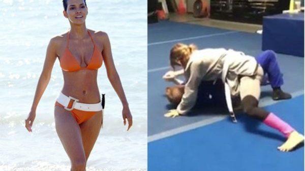 Η Halle Berry έκανε το πρώτο της μάθημα στο Jiu Jitsu