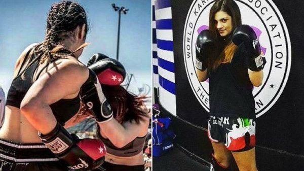 Άννα-Μαρία Γιώτα: Η 15χρονη kickboxer που σαρώνει!