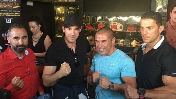 To Fightsports στην συνέντευξη τύπου του Yuri Boyka