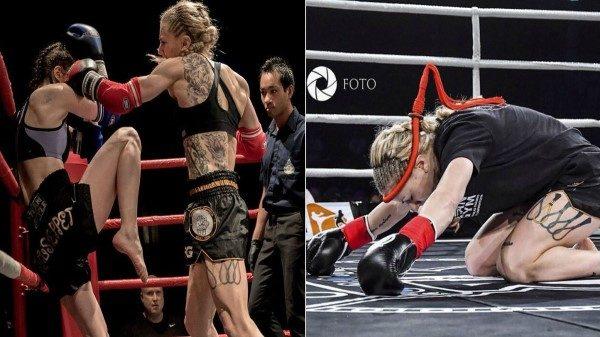 Ντεμπούτο της τρομερής  Sofia Olofsson στο Glory απέναντι στην Van Soest