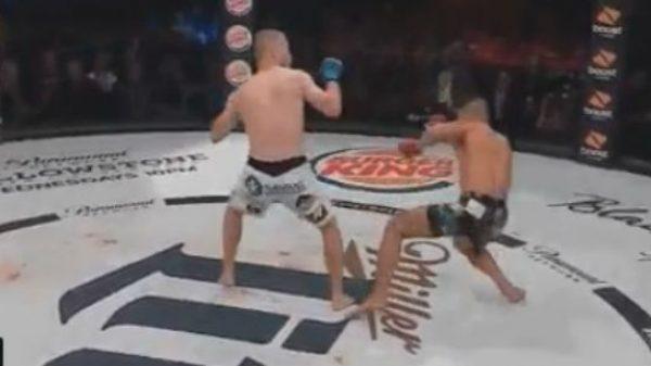 Δες το πόδι πριν ο αθλητής πέσει στο καναβάτσο…