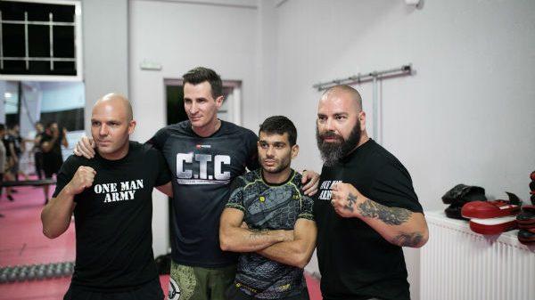 Νέος κύκλος μαθημάτων C.T.C με μυστικά από UFC και Κ1 στις Συκιές Θεσσαλονίκης