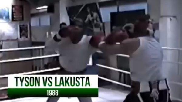 Το «εφιαλτικό» σπάρινγκ του Tyson με τον Lakusta
