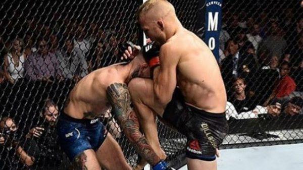 Συγκίνηση και δάκρυα στο UFC 227