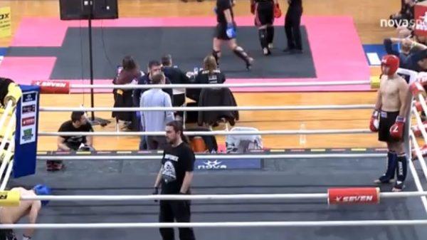 Μπαγλατσάκος vs Κωνσταντινίδης στο International Fight Club Open
