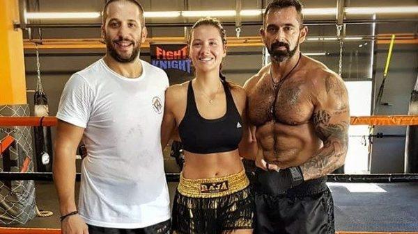 Προπόνηση στο Chatzichronoglou Fight Academy για Καλέργη και BO