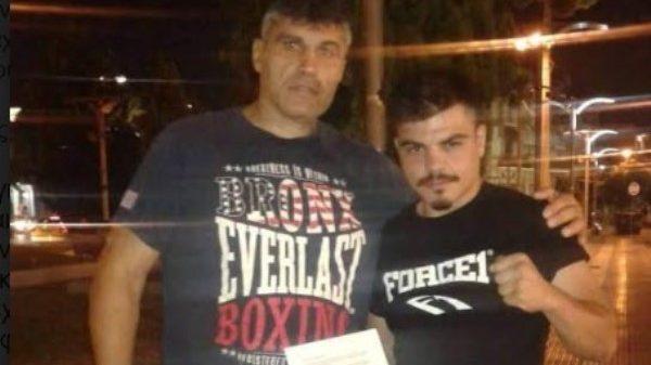 Ο Πατρινός πρωταθλητής Πάρης Σταυρόπουλος στο ΣΕΠ