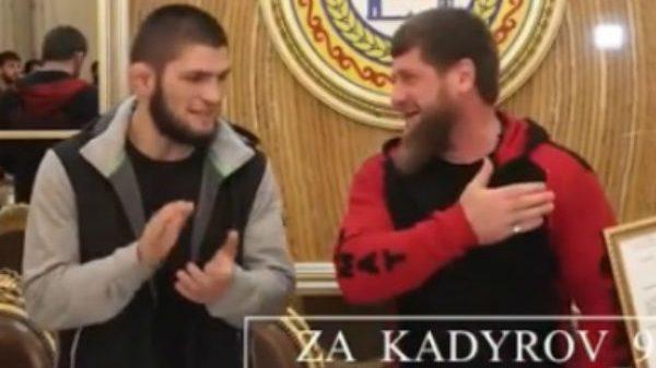 Αποθεώθηκε και στην Τσετσενία από τον Kadyrov ο Khabib