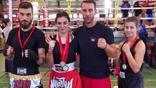 Σε τουρνουά kickboxing οι αθλητές του Νικόμαχου Βόλου