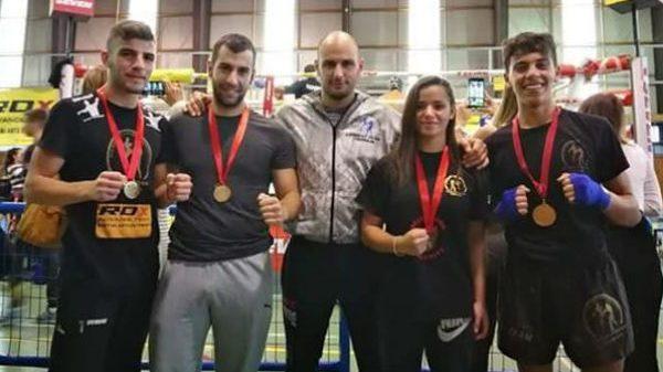 Combat Team Tripolis: Διακρίσεις στο Gods of War