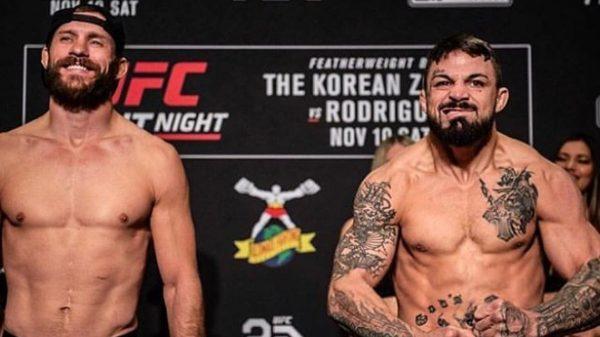 Άγριοι cowboys στο Κολοράντο: Τεράστια μάχη Cerrone και Perry στο UFC