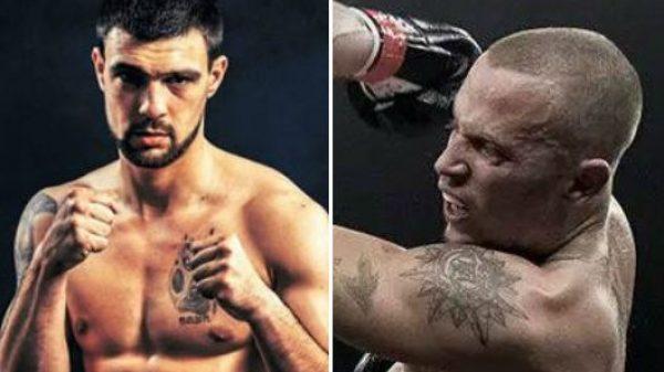 O Βόσνιος Mirko Zdralo αντίπαλος του Βαγγέλη Χατζή στο Scorpion Fight Show