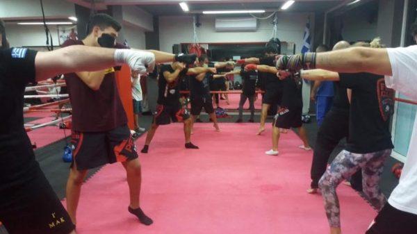Σεμινάριο Πυγμαχίας στην σχολή Fight Club Ιεράπετρας