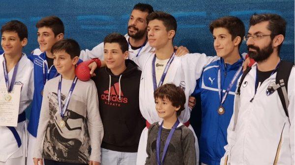 Σάρωσε ο Αθλητικός σύλλογος Καράτε Αμαρουσίου «Ο Δρόμος της Ειρήνης»