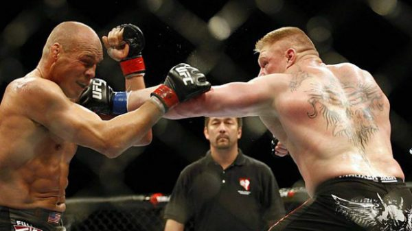 Σαν σήμερα ο Brock Lesnar γινόταν πρωταθλητής βαρέων βαρών στο UFC