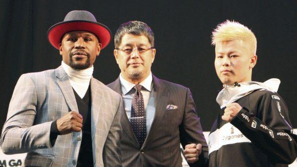 To Face Off για Mayweather και Tenshin πριν το μεγαλύτερο «σπάρινγκ» που έχει γίνει ποτέ!