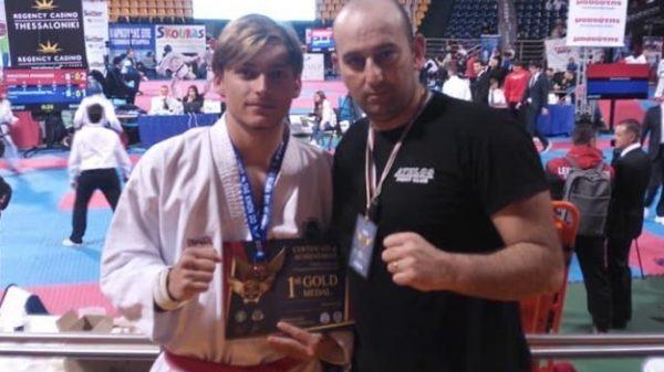 Ο Άθλος Κιλκίς στο European King Of Tae Kwon Do ITF