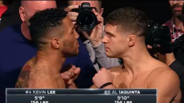 Η συνάντηση του Kevin Lee με τον Al Iaquinta στην ματσάρα του UFC