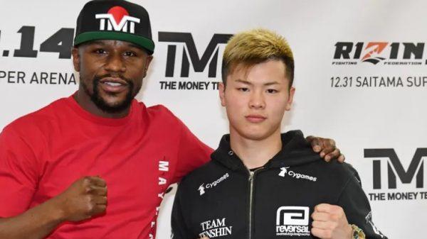 Απίστευτο: Ποιος αγώνας; Φιλικό σπάρινγκ το Floyd Mayweather vs Tenshin Nasukawa