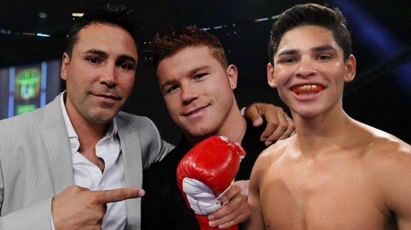 Συναθλητές Canelo Alvarez και Ryan Garcia