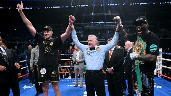 Ισοπαλία στην τιτανομαχία Fury vs Wilder