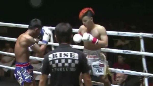 Το ματς της χρονιάς στο kickboxing έκανε Tenshin Nasukawa με τον Rodtang