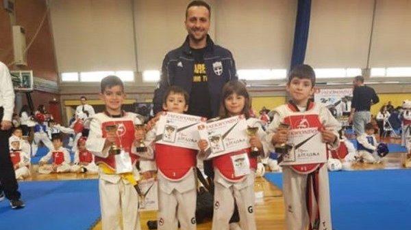 Α.Σ Θησέας Αιτ/νιας: Εξαιρετικές εμφανίσεις στο Champions Kid Cup