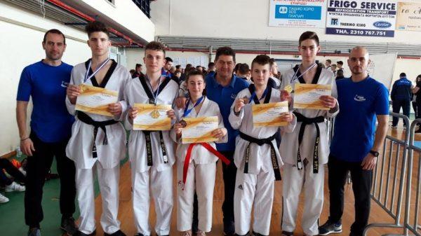 Εννέα μετάλλια για Τόλμη Κιλκίς στο πρωτάθλημα  Kyorugi και Poomsae