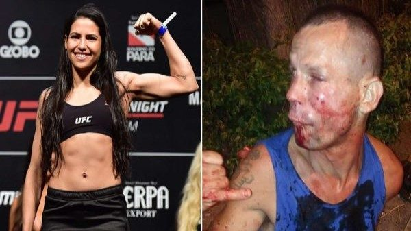 Διαψεύδει τις φήμες πως συνελήφθη μετά τον ξυλοδαρμό του ληστή η Polyana Viana
