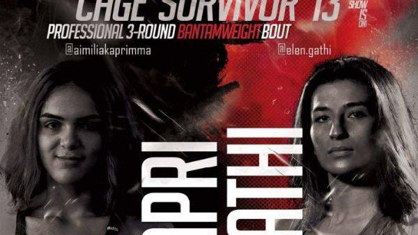 Cage Survivor: Ανακοίνωσε το Καπρή vs. Γάθη