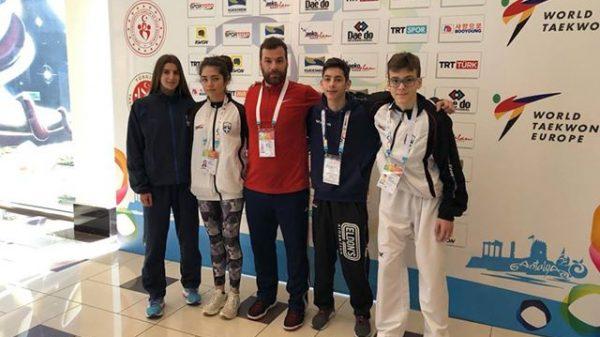 ΔΙΑΣ Λάρισας: Τέσσερις αθλητές αγωνίστηκαν στην Τουρκία
