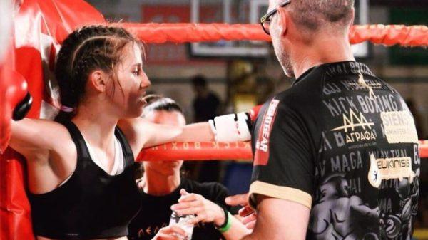 Fight Club Γαλάτσι: Η Αγαθαγγελίδου προσπάθησε να χτυπήσει περίτεχνα