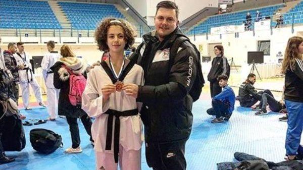 Ταεκβοντο Αγρίνιο Ζαχαρόπουλος Team: Τρίτη θέση για Υφαντή
