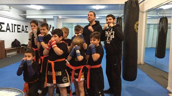 Α.Σ Αιγεας: Εξετάσεις ζωνών σε Hapkido και kickboxing