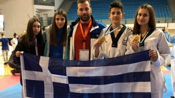 Α.Σ Δίας: Με δύο χρυσά μετάλλια επέστρεψε από την Κύπρο