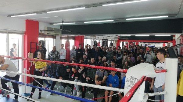 Με επιτυχία ολοκληρώθηκε το πρώτο Boxing Sparring For All στο Talent Boxing Academy