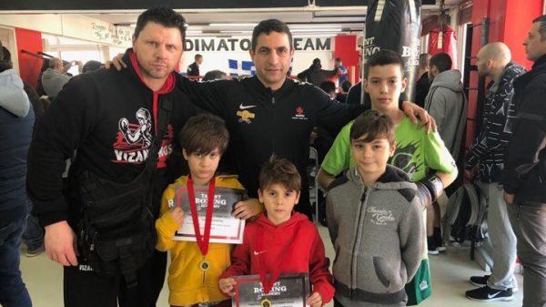 Δυναμικό παρών του Βυζαντινού στα σπάρινγκ του Talent Boxing Academy
