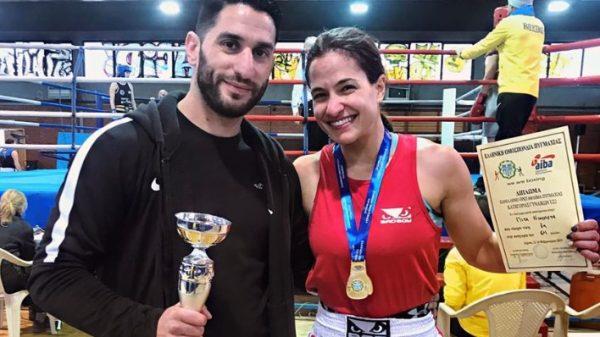 Πρωταθλήτρια Ελλάδος στην πυγμαχία η Νίκη Πίτα