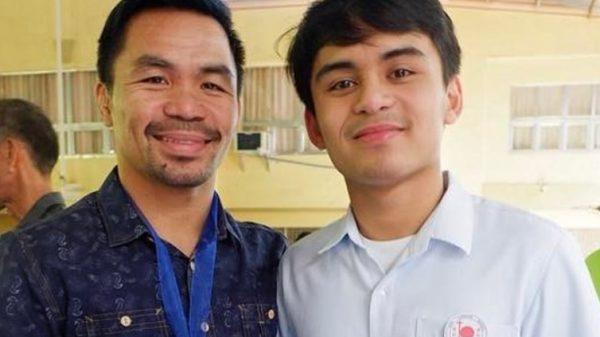 Ντεμπούτο στην πυγμαχία για τον γιο του Pacquiao