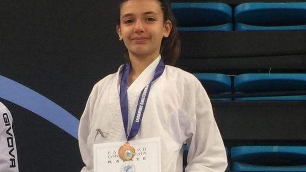 Α. Σ Καράτε «Αρμονία»: Τρίτη θέση για την Άννα Νικολοπούλου