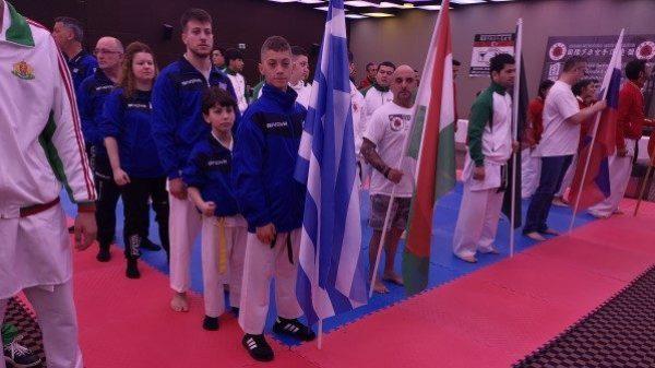 Τρία μετάλλια για τους Έλληνες στο Ευρασιατικό πρωτάθλημα Ashihara
