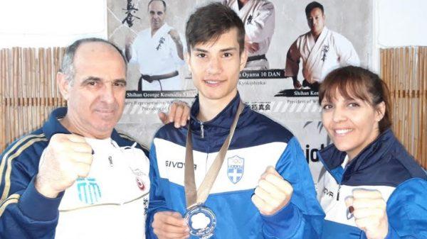 Χάλκινο και πέμπτη θέση για την ακαδημία  Shinkyokushinkai Καράτε σε διεθνές τουρνουά