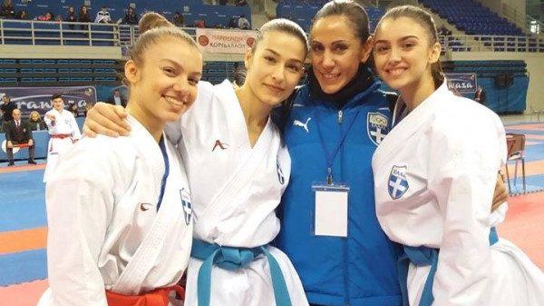 Karate Club Οδυσσέας: Στην κορυφή του Πανελληνίου πρωταθλήματος Καράτε