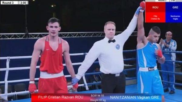 Πρόκριση για Νανιτζανιάν στο Πανευρωπαϊκό πρωτάθλημα της Ρωσίας