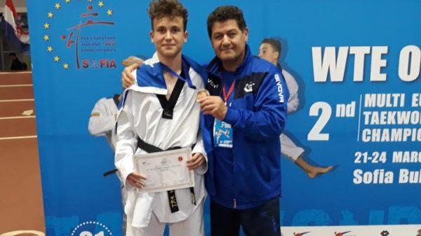 Τόλμη Κιλκίς: Χάλκινο μετάλλιο ο Κεμεντσετσίδης στο Taekwondo Multi European Games