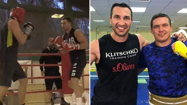 Σπάρινγκ για Usyk και Klitschko και νέος αγώνας!