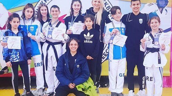 Α.Σ.Taekwondo Νέας Ιωνίας: Δυναμικές εμφανίσεις και μετάλλια στο Ακρόπολις