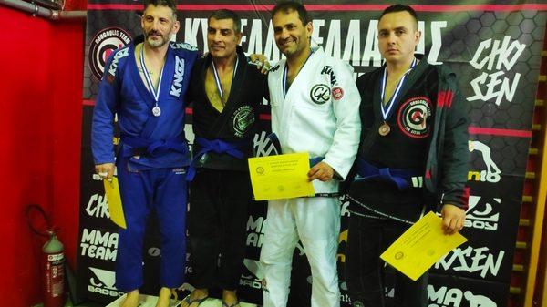 Kinesis Fight Club: Επιτυχίες στο Κύπελλο Ελλάδος Brazilian Jiu Jitsu