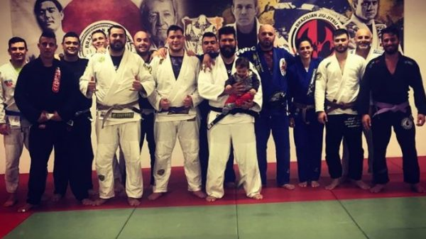Rhodes Knights-Brazilian jiu jitsu academy: Προπόνηση με τον Γιάννη Αρζουμανίδη