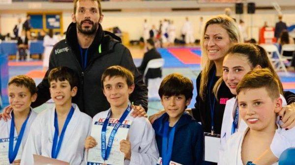 Α.Σ Καράτε «Αρμονία» ΟΑΚΑ: Μετάλλια και επιτυχίες στο Open Series